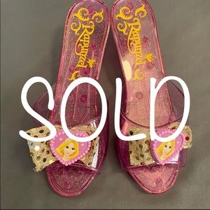SOLD-Disney Princess Rapunzel Dress-Up Shoes